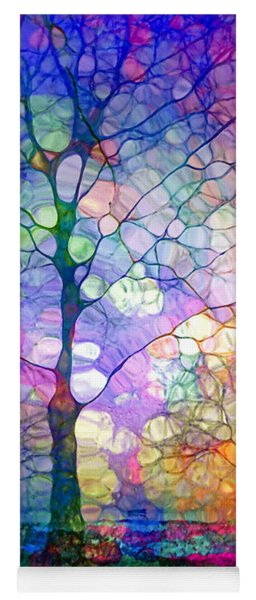 The Imagination Of Trees Yoga Mat