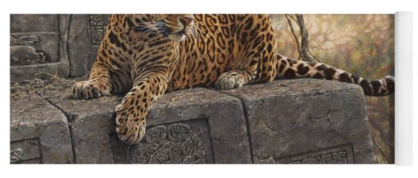 The Jaguar King Yoga Mat