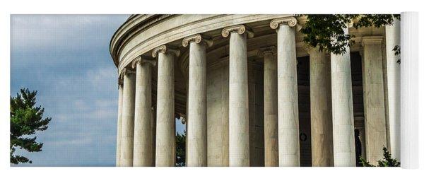 The Jefferson Memorial Yoga Mat