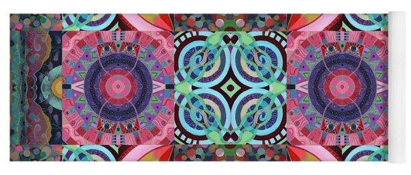 The Joy Of Design Mandala Series Puzzle 7 Arrangement 1 Yoga Mat