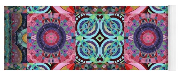 The Joy Of Design Mandala Series Puzzle 7 Arrangement 1 Yoga Mat
