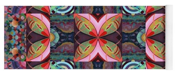 The Joy Of Design Mandala Series Puzzle 7 Arrangement 2 Yoga Mat