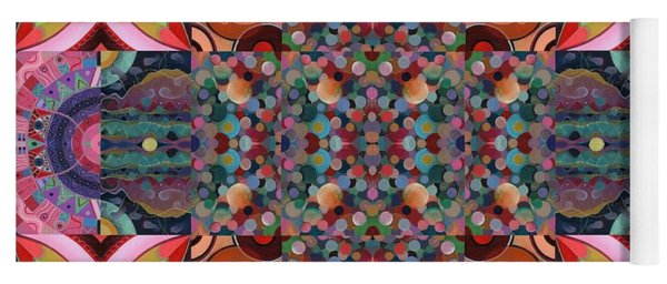 The Joy Of Design Mandala Series Puzzle 7 Arrangement 4 Yoga Mat
