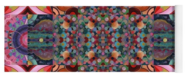 The Joy Of Design Mandala Series Puzzle 7 Arrangement 4 Yoga Mat
