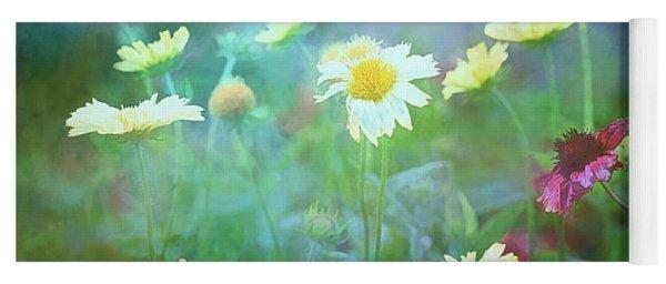The Joy Of Summer Flowers Yoga Mat