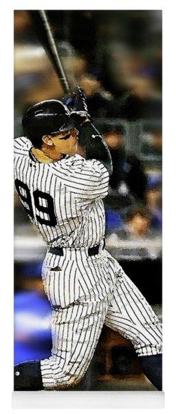 The Judge, Aaron Judge, Number 99, New York Yankees Yoga Mat