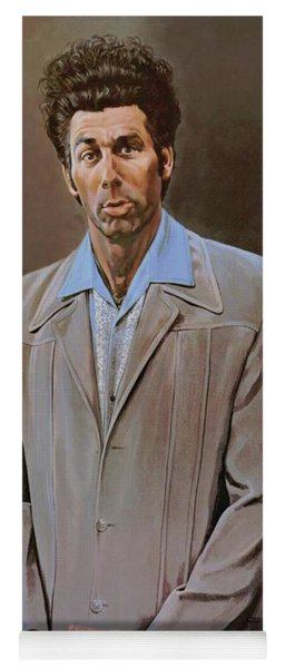 The Kramer Portrait  Yoga Mat