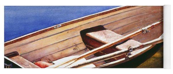 The Lake Boat Yoga Mat