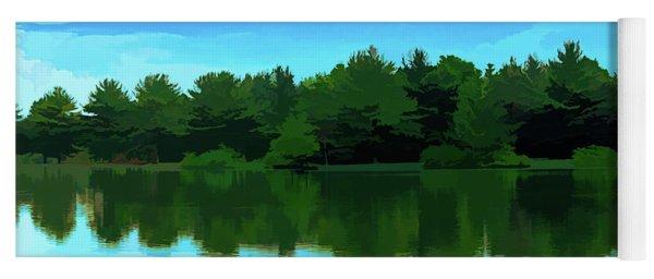 The Lake - Impressionism Yoga Mat