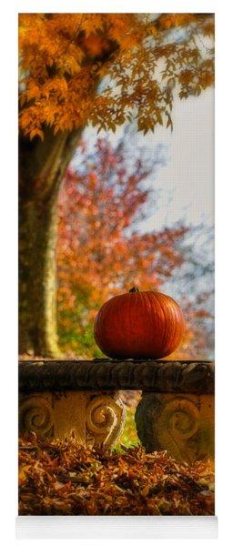 The Last Pumpkin Yoga Mat