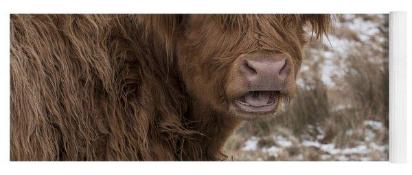The Laughing Cow, Scottish Version Yoga Mat