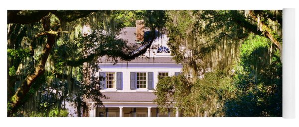 Yoga Mat featuring the photograph The Legare-waring House At Charles Town Landing by Lisa Wooten