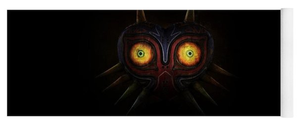 The Legend Of Zelda Majora's Mask Yoga Mat