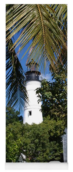 The Lighthouse In Key West II Yoga Mat
