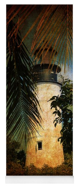 The Lighthouse In Key West Yoga Mat