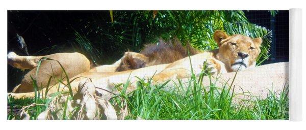 The Lion Awakes Yoga Mat