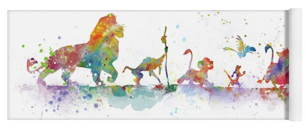The Lion King Yoga Mat