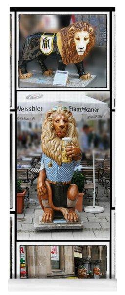 The Lions Of Munich Yoga Mat