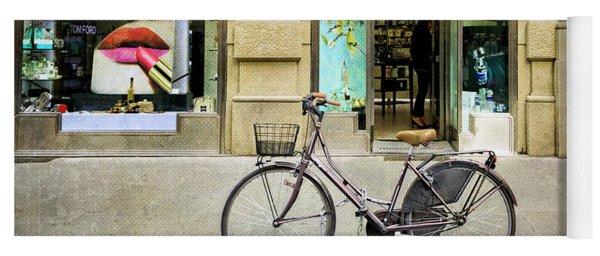 The Lipstick Bicycle Yoga Mat