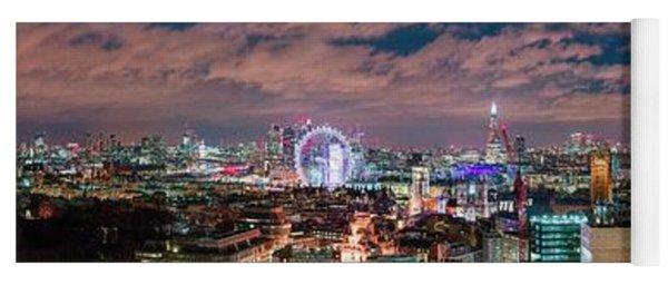 The London Skyline Yoga Mat