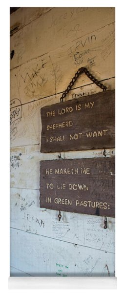 The Lord Is My Shepherd Yoga Mat