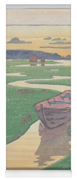 The Lost Boat , Arthur Wesley Dow Yoga Mat