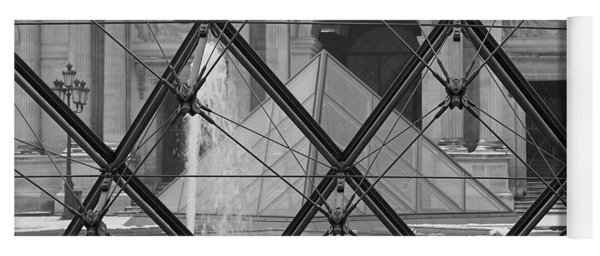 The Louvre From The Inside Yoga Mat