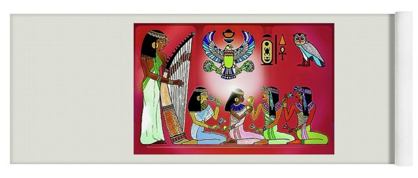The  Lure Of Egypt Yoga Mat