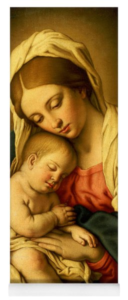 The Madonna And Child Yoga Mat