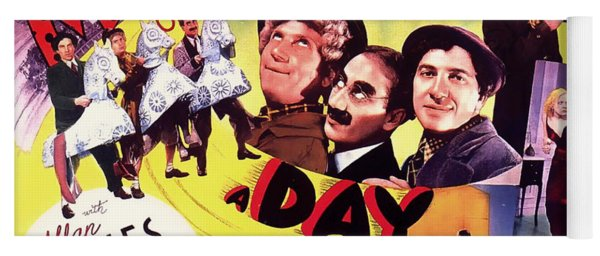The Marx Bros - A Day At The Races 1937 Yoga Mat