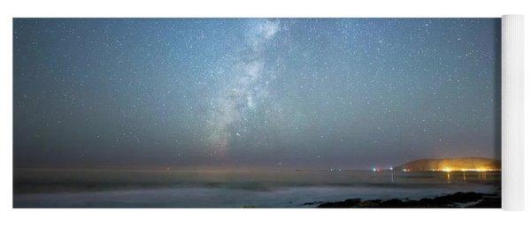 The Milky Way And Avila Beach Yoga Mat