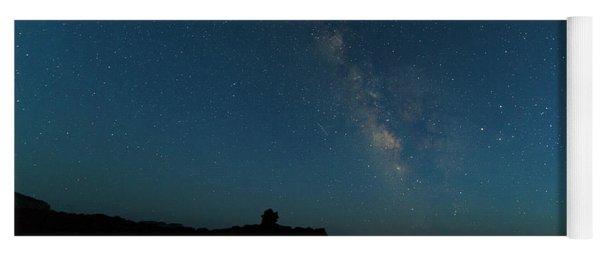 The Milky Way At Goblin Valley Yoga Mat