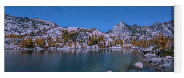 The Night In Leprechaun Lake Yoga Mat