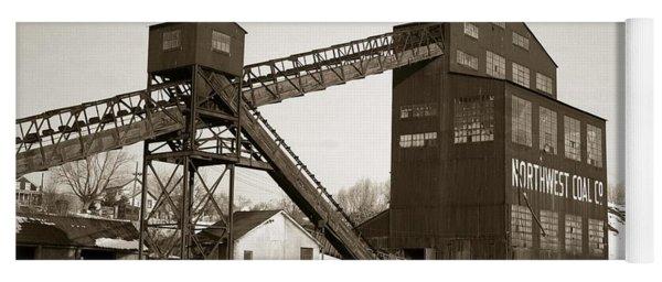 The Northwest Coal Company Breaker Eynon Pennsylvania 1971 Yoga Mat