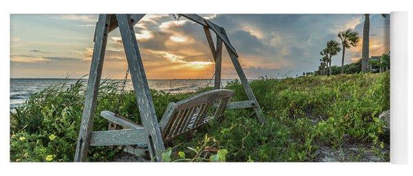 The Old Beach Swing -  Sullivan's Island, Sc Yoga Mat