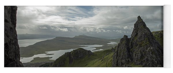 The Old Man Of Storr Yoga Mat