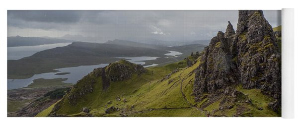 The Old Man Of Storr, Isle Of Skye, Uk Yoga Mat