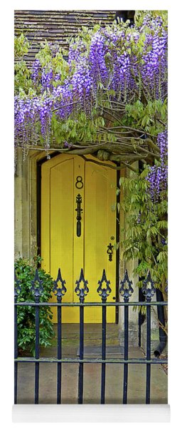 The Old School House Door Yoga Mat