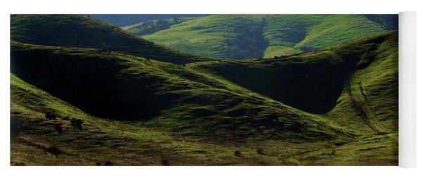 The Outskirts Of San Luis Reservoir, California Yoga Mat