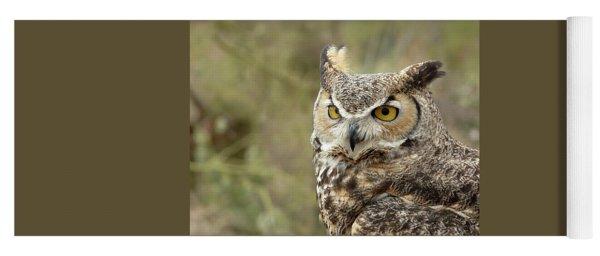 The Owl Yoga Mat