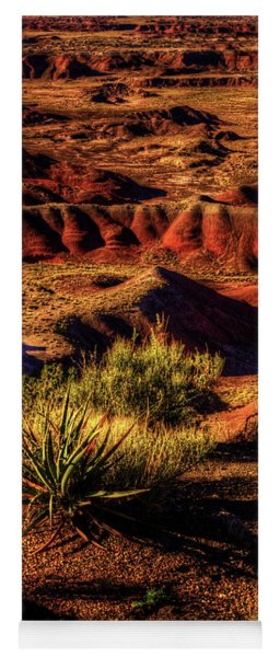 The Painted Desert From Kachina Point Yoga Mat