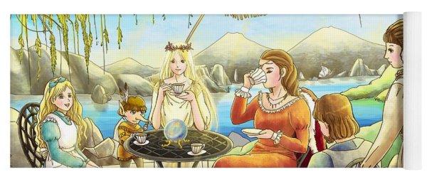 The Palace Garden Tea Party II Yoga Mat