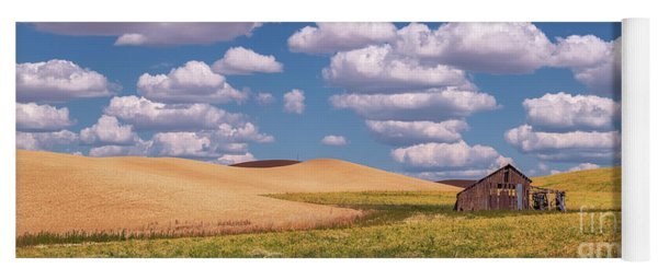 Yoga Mat featuring the photograph The Palouse by Sharon Seaward