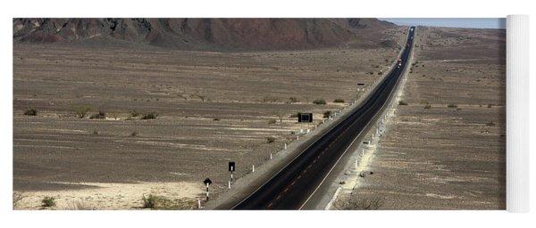 The Pan-american Highway, Peru Yoga Mat