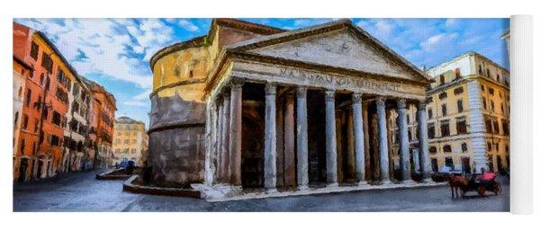 The Pantheon Rome Yoga Mat