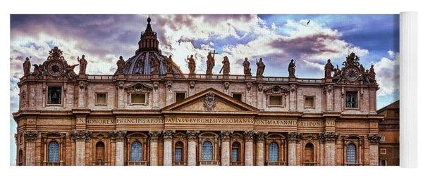 The Papal Basilica Of Saint Peter Yoga Mat