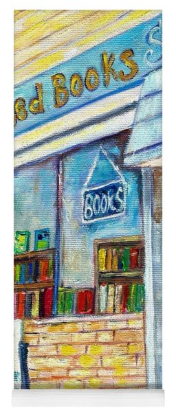 The Paperbacks Plus Book Store St Paul Minnesota Yoga Mat