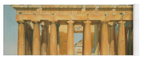 The Parthenon Yoga Mat