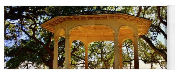 The Pavilion At Battery Park Charleston Sc  Yoga Mat