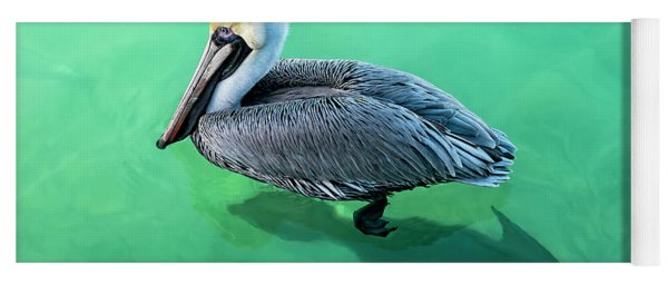 The Pelican And The Shark Yoga Mat
